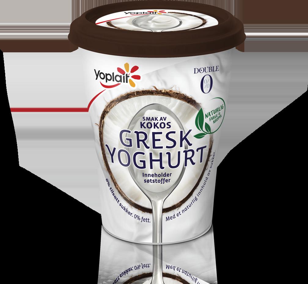 Double 0% Gresk Kokos