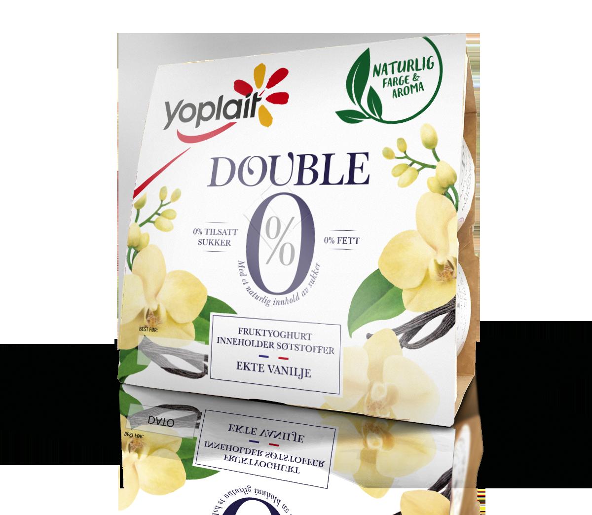 Double 0% Ekte Vanilje