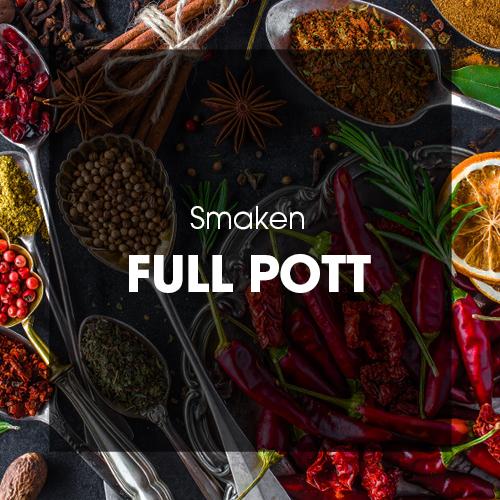 Smaken: Full pott