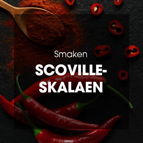 Smaken: Scoville-skalaen