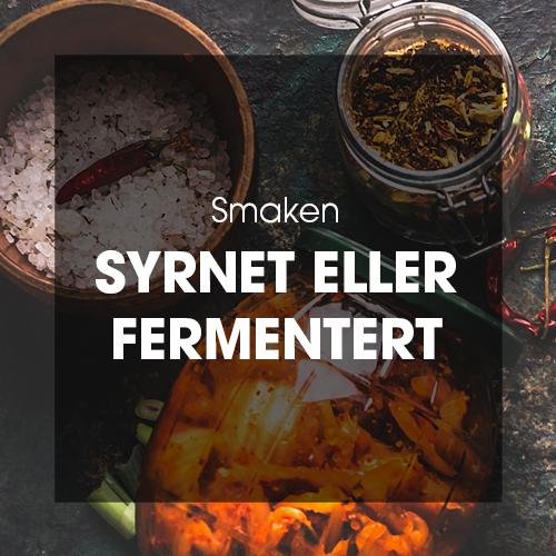 Smaken: Syrnet eller fermentert