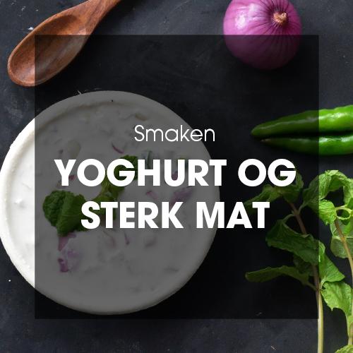Smaken: Yoghurt og sterk mat