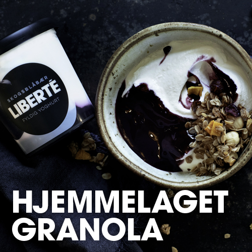 Hjemmelaget granola med LIBERTÉ Yoghurt